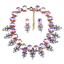 Fashion-Elegant-Women-Bib-Crystal-Pendant-Statement-Chain-Chunky-Choker-Necklace thumbnail 83