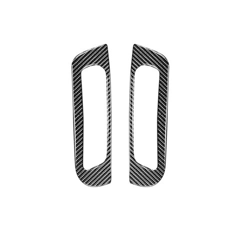 Carbon Fiber Front A-Pillar Air Vent Outlet Trim Cover For Jeep Grand Cherokee