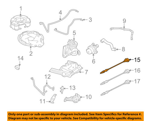 VW VOLKSWAGEN OEM 09-14 Jetta-Oxygen O2 Sensor 1K0998262N