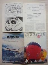 12/1983 REVUE PEGASE N°32 LE MYSTERE COANDA BALLON BAGATELLE PUB MIRAGE 4000