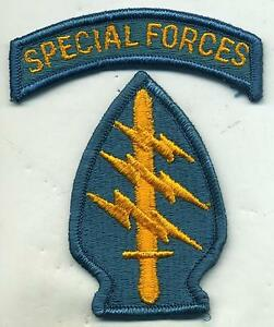 Vintage-US-Army-Special-Forces-Full-Color-Patch-W-Special-Forces-Tab