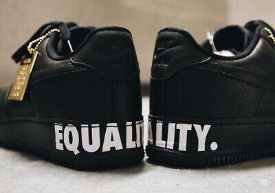 nike air force 1 black equality