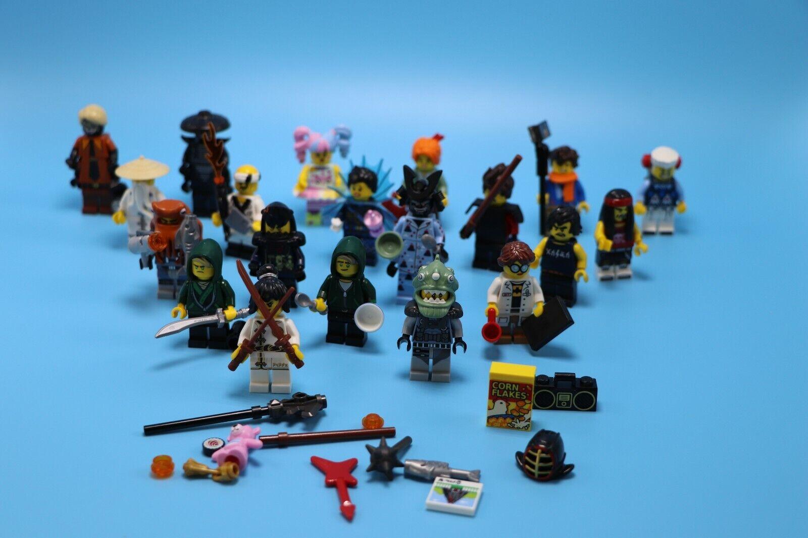 Lego 20 minifiguras de Ninjago película serie 1 Bolsas De Ciego-Completo Collectn
