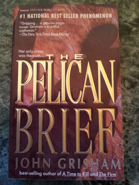 John Grisham - The Pelican Brief - (englisch)