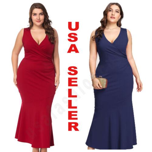 Women/'s Plus Size Long Cocktail Party Wedding Evening Formal Lace Maxi Dresses