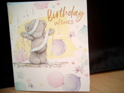 Me To You BIRTHDAY WISHES CARTE D/'ANNIVERSAIRE
