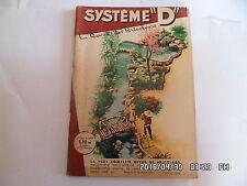 SYSTEME D N°196 AVRIL 1962 AMENAGER UNE PIECE D'EAU EN ROCAILLE BAR ETAGERE  G64