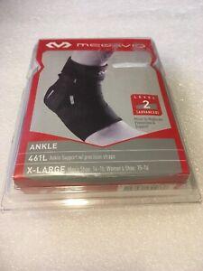 McDavid Ankle Support W//Precision Straps