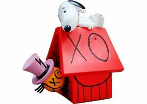 """APPortfolio x Peanuts Snoopy x Andre Sculpture 12"""" Resin 2017 Limited Rare Snoop"""