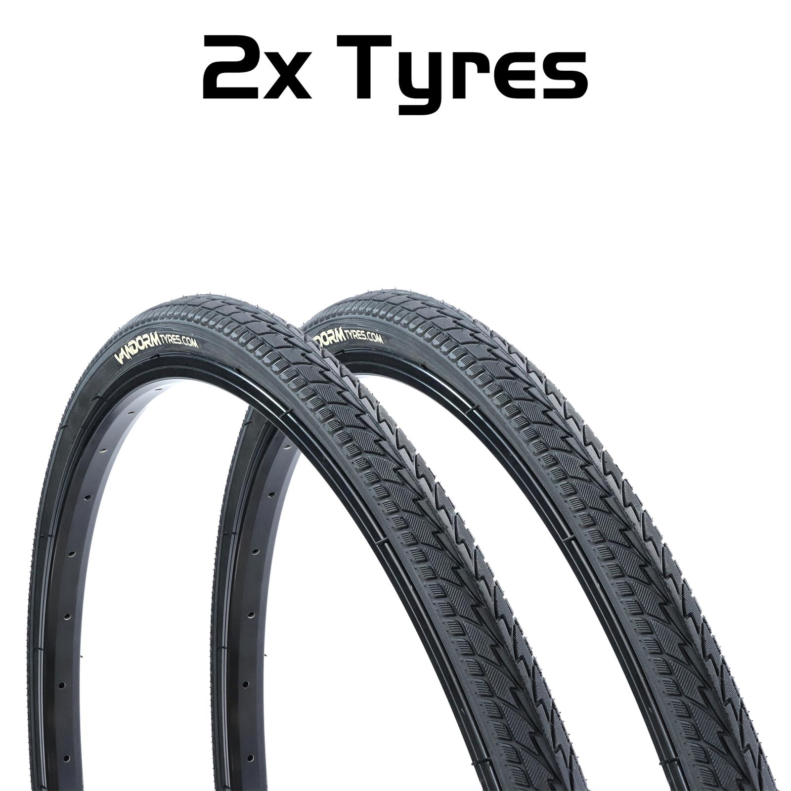 40-622 Pair Of 700x38C Road Tyres E-507-05
