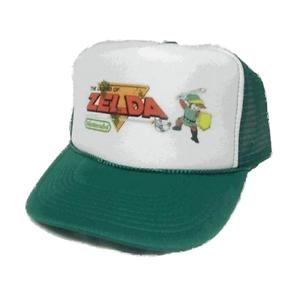 Legend of Zelda Trucker Hat mesh Hat Snap Back Hat green