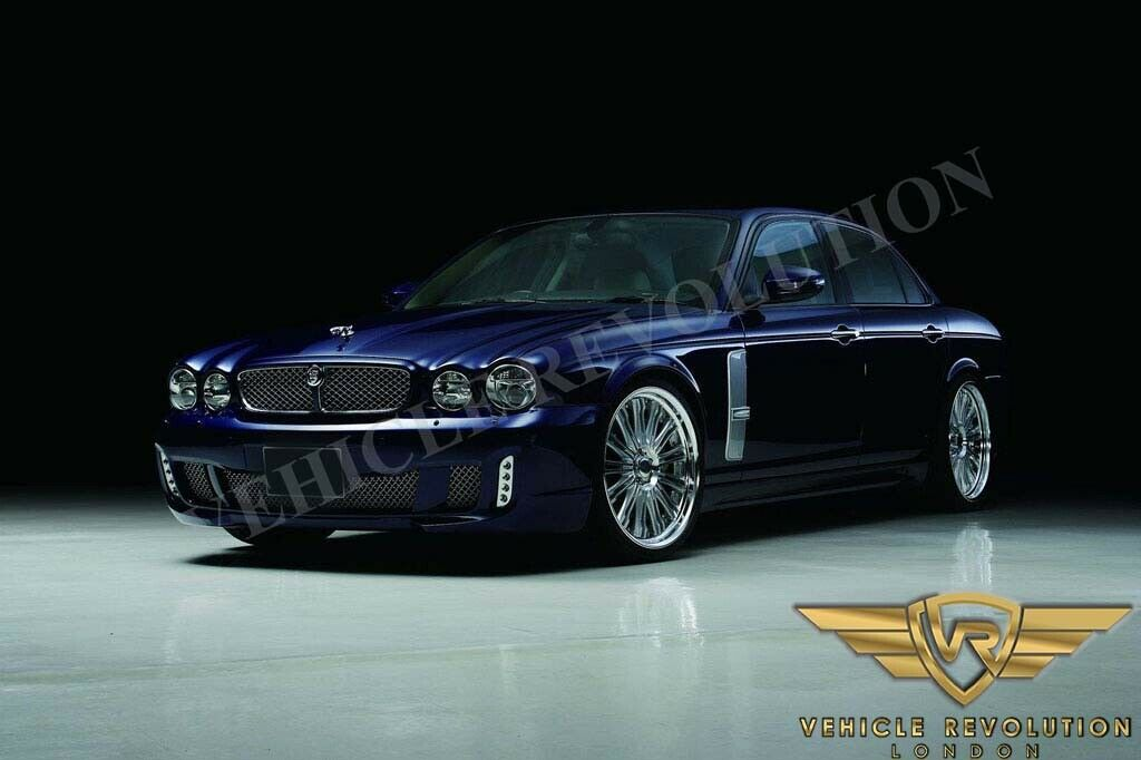Jaguar Xj 350 358 Body Kit Upgrade Conversion 2004 09