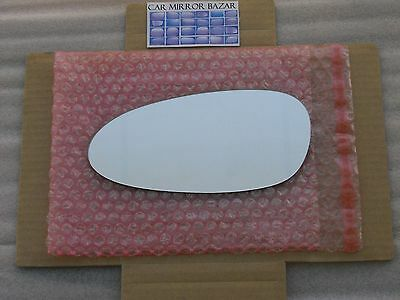 848LFH HEATED Mirror Glass for PORSCHE 911 Boxster Cayman Driver Side Left LH L