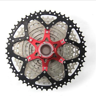 BOLANY 10 Speed 11-50T Freewheel MTB Mountain Bike Big Cassette For SHIMANO SRAM