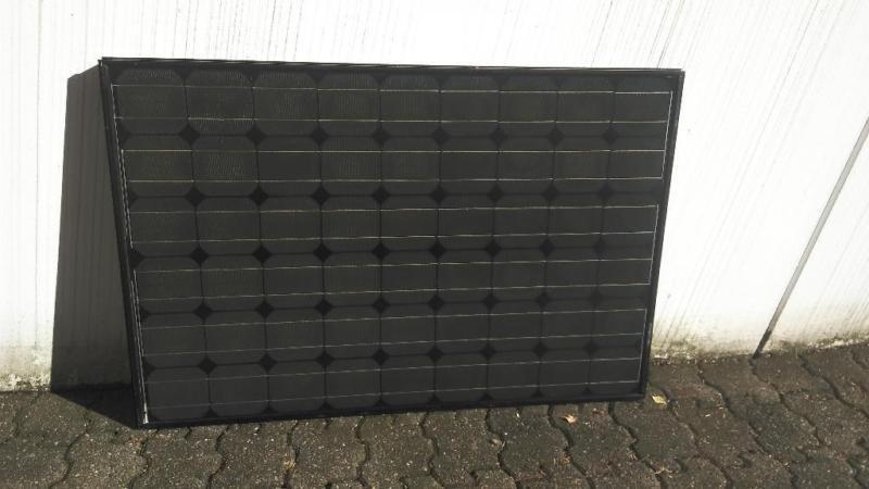 1 x 125W Modul Solarmodul Monokristallin Photovoltaik Garantie und MwSt.