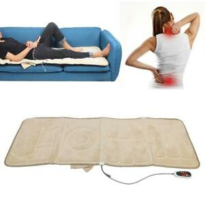 Full-body Massage Mattress Automatic Heating Far Infrared Massager Relax Cushion