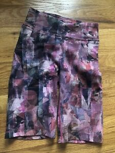 "52b56bc2c7 Lululemon On Pace Short HR 10"" Sun Dazed Multi Pink Size 4 | eBay"
