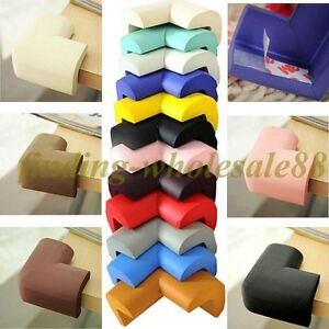4PCS Desk Corner Cover Protector Soft Safety Foam Cushion Child Baby Guard