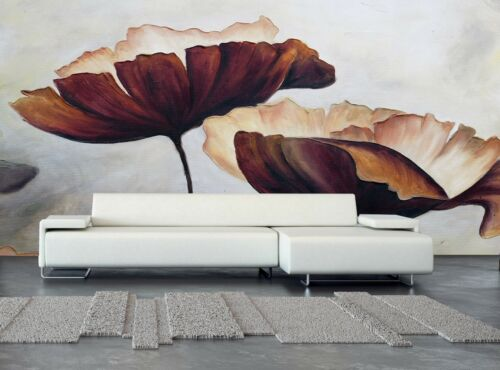 The Painting Flower  Wall Mural Photo Wallpaper GIANT WALL DECOR Paper Poster