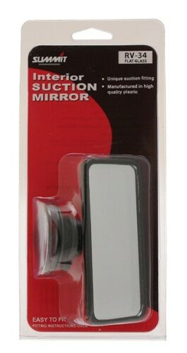 4x Mirror Glass Small Flat Glass Suction Mirror RV-34 Summit NEW MULTIBUY SAVER