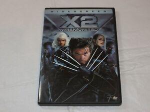 X2-X-Men-United-DVD-Sci-Fi-amp-Fantaisie-Rated-PG13-Hugh-Jackman-Patrick-Stewart