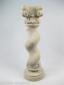 BERNINI COLUMN DISPLAY PEDESTAL 3FT LAMP PLANT STAND ROMAN