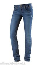 Fornarina NEW KITTY Superslim Damen Jeans, Blau, W32 L32