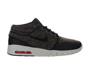 71ee7352df0 Mens Nike Stefan Janoski Max Mid Baroque Brown Black Laser Crimson ...