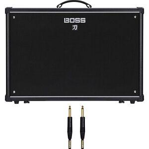 boss katana 100 212 100w 2x12 guitar combo amplifier amp 10 ft mogami cable ebay. Black Bedroom Furniture Sets. Home Design Ideas