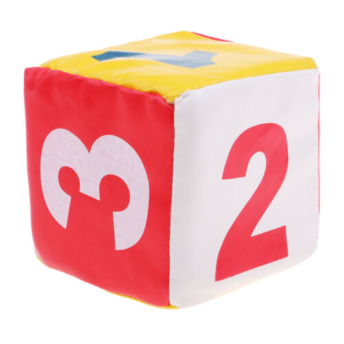 Sponge Dice Foam Dot Dice Playing Dice for Teach Education Toy Numbers/&Spots