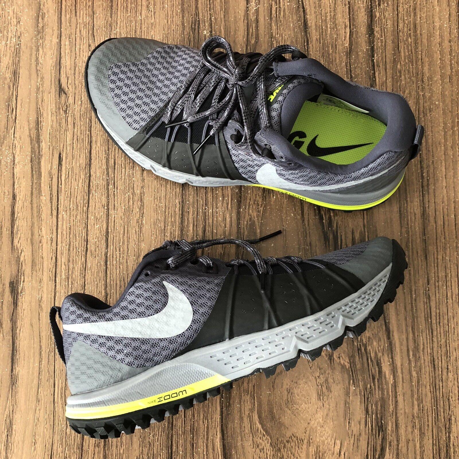 A859G A859G A859G Nike Air Zoom Wildhäst 4 88565 -001 Trail skor herr Storlek 6 (kvinnor 7.5)  80% rabatt