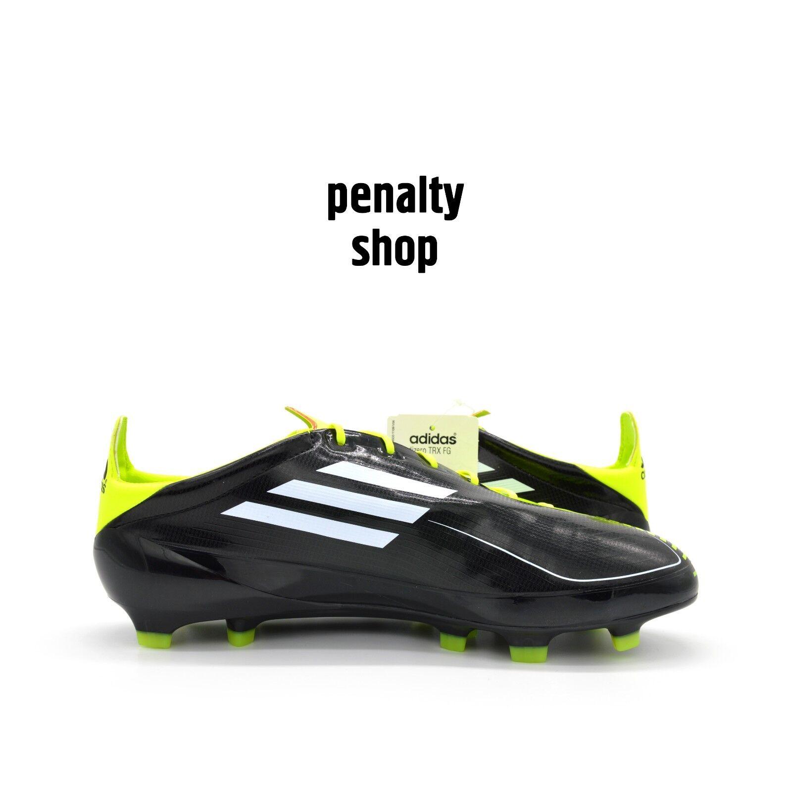 ADIDAS ADIZERO F50 TRX Hg Lea Shoes Football Boots Size 43 48, 5 Yellow New