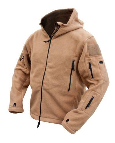 Coyote Desert Sand Recon Hoody Military Fleece Coat Hoodie