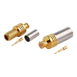 5-pack-MCX-Male-Crimp-Solder-Connector-for-RG58-LMR-195-RG400-RG142-Coax-Cable
