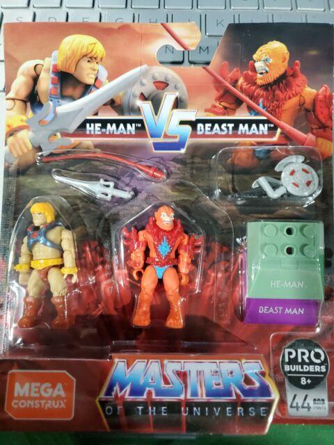 MEGA CONSTRUX FINAL SHOWDOWN: MASTERS OF THE UNIVERSE He-Man Vs Beast Man MOTU