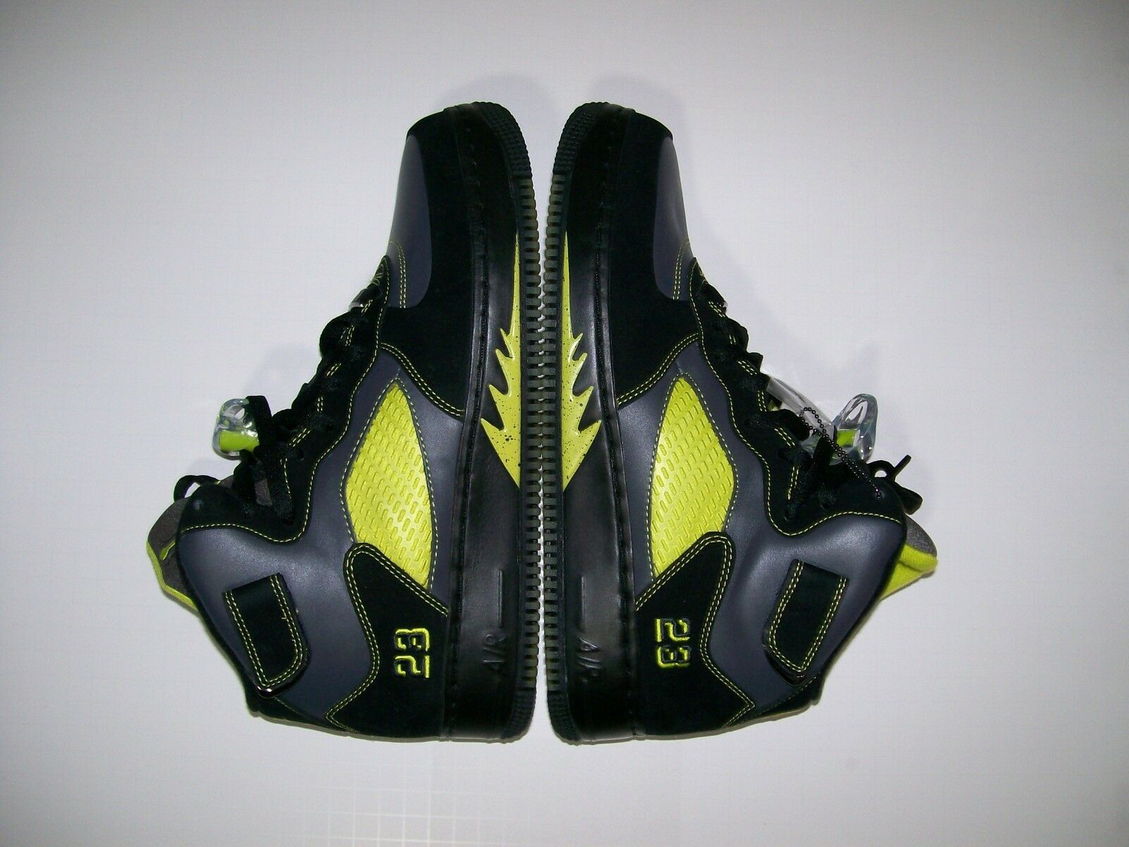 NEW SZ 11 Nike Air Jordan Fusion 5 AJF5 LS 322882-031 Black Cactus V Force 1 X