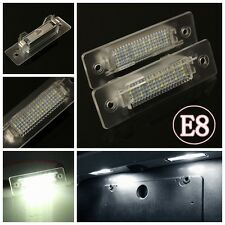 2 X White LED Number License Plate Light Lamp For Porsche 911 Carrera 996 986