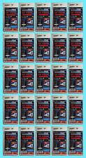 "25 Ultra Pro 1/4"" 4-SCREW SCREWDOWN RECESSED Standard Trading Card Holder 3x5"