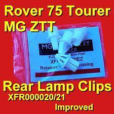 Rover 75 Tourer MG ZTT Rear Light Lamp Clips XFR000020 XFR000021 Improved Nice!