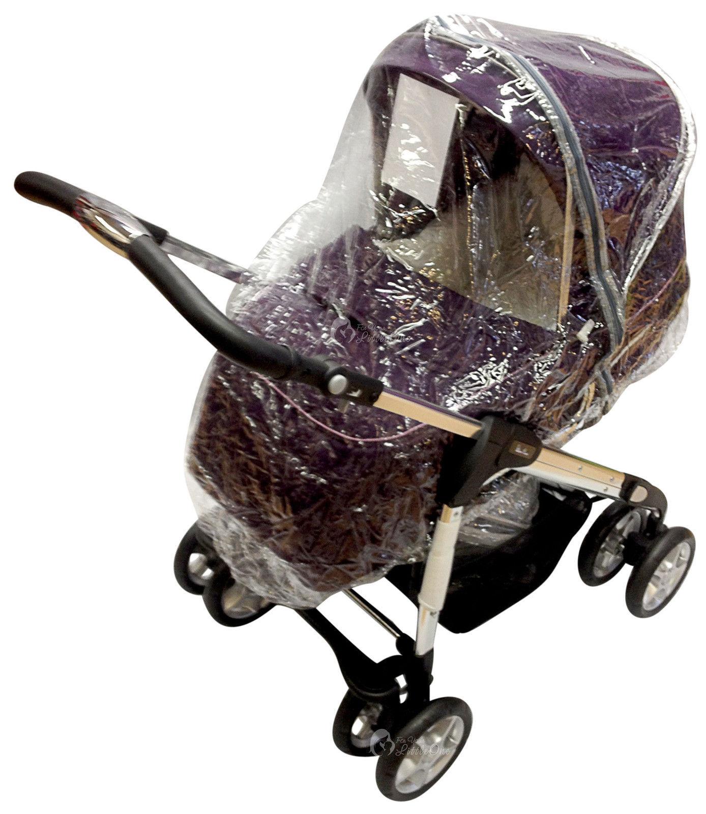 Luna rc Heavy Duty Rain Cover To Fit Argos Cuggl Hawthorn 4 Wheeled Stroller