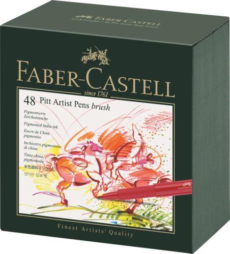 FABER-CASTEL PITT PROFESSIONAL ARTIST PEN BRUSH NEW SUPER PRICE