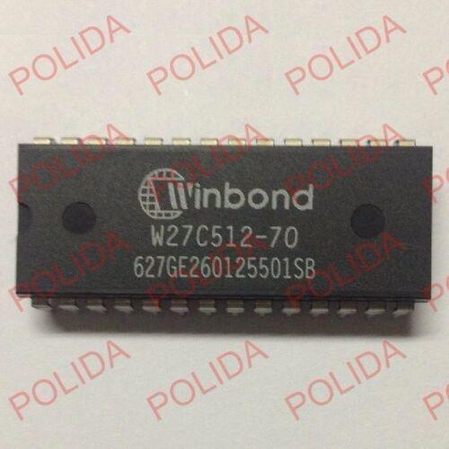 1PCS EEPROM IC WINBOND DIP-28 W27C512-70