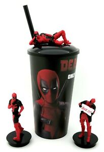 Deadpool-2-Cinema-Movie-Cup-topper-figures-Full-Set-of-3-Collectible-Cup-Korea
