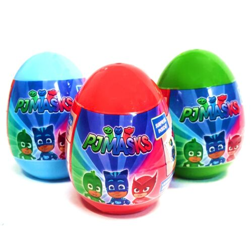 Lot de 3 PJ Masks Surprise Egg Toys-Fun Enfants Idée De Cadeau De Remplissage filles garçons