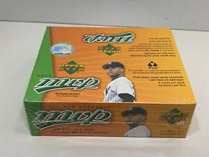 2005-Upper-Deck-MVP-Baseball-Hobby-Box-24-6-Card-Packs-NEW-FACTORY-SEALED