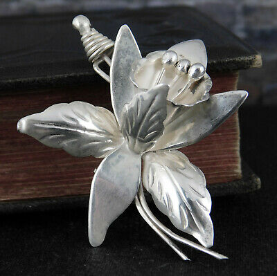 Beautiful Ladies Sterling Silver Sunflower Bracelet MEXICO TAXCO
