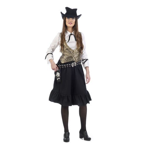 Cowgirl Wild West Damen Kostüm Western Damenkostüm Revolverlady Ellen