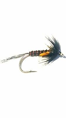 9 NEW mixed Rutland Cruncher Nymphs sz10 Trout Flies by Iain Barr Fly Fishing