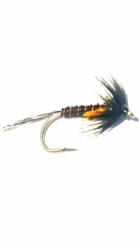 6 Bullet Crunchers sz10//12 1 Nemo FREE Trout Flies by Iain Barr Fly Fishing