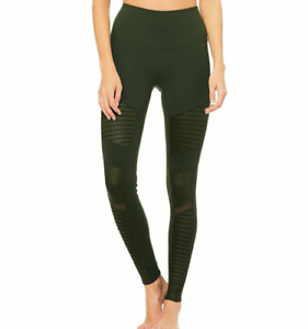 Alo Yoga Women's High Waisted Moto Legging S